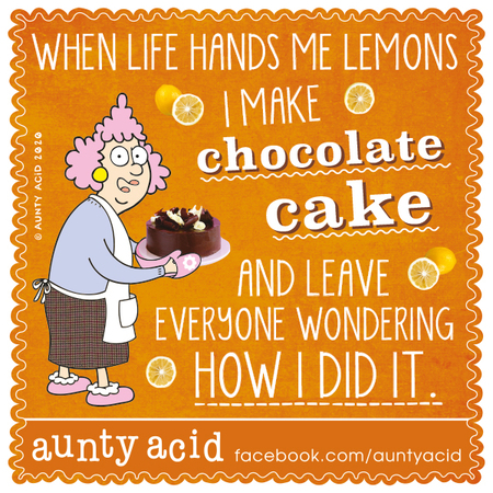Aunty Acid Comic Strip for March 12, 2020