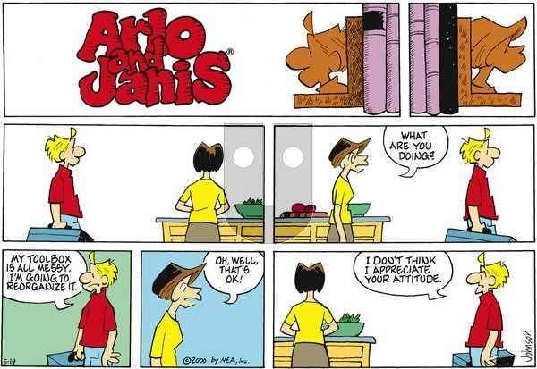 Arlo and Janis on Sunday May 14, 2000 Comic Strip