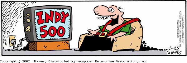Frank and Ernest for May 25, 2002 Comic Strip