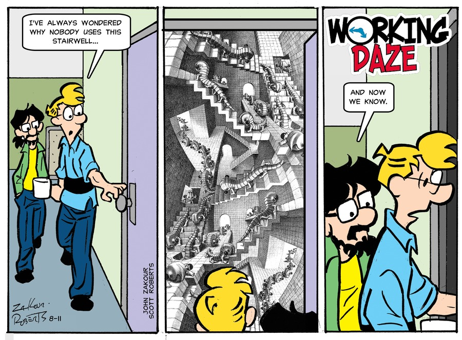Working Daze Comic Strip for August 11, 2019