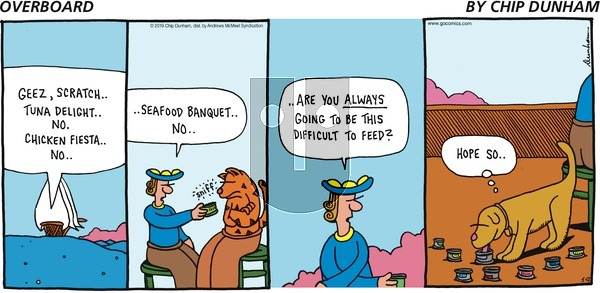 Overboard on Sunday May 12, 2019 Comic Strip