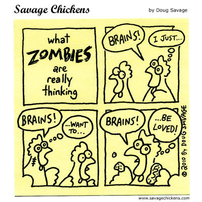 Savage Chickens Comic Strip for August 19, 2014