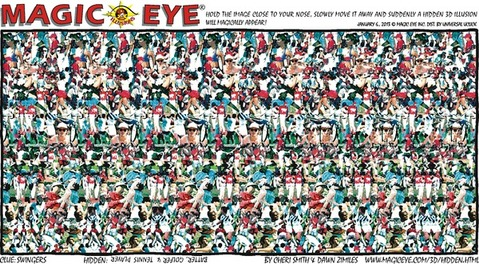 Magic Eye sample