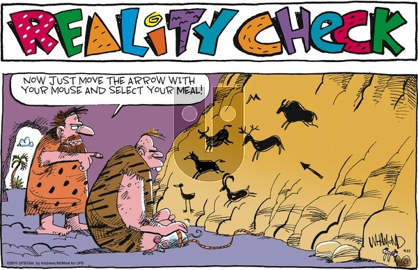 Reality Check on Sunday April 22, 2018 Comic Strip
