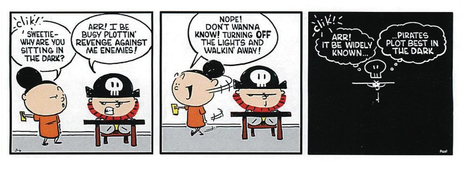 Pirate Mike Comic Strip for May 21, 2019
