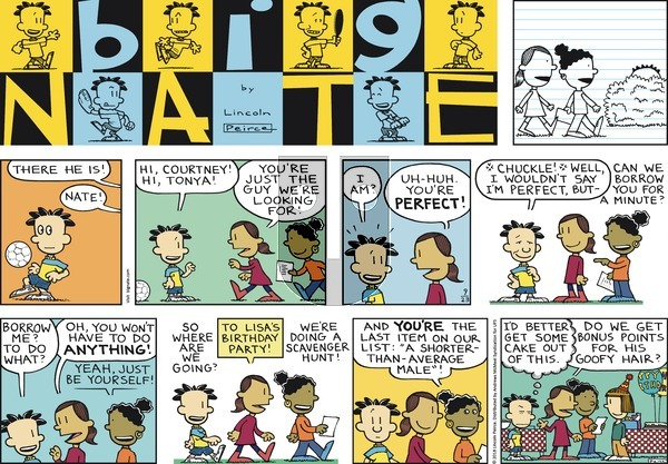 Big Nate on Sunday September 23, 2018 Comic Strip