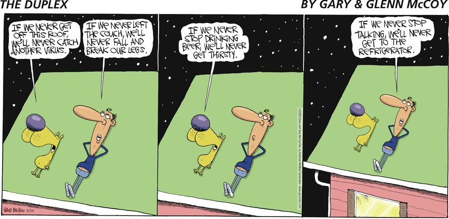 The Duplex Comic Strip for May 24, 2020
