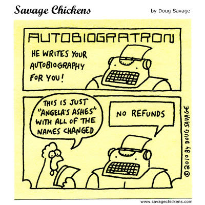 Savage Chickens Comic Strip for August 15, 2014