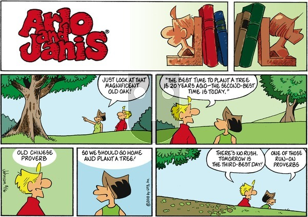 Arlo and Janis on Sunday May 16, 2010 Comic Strip