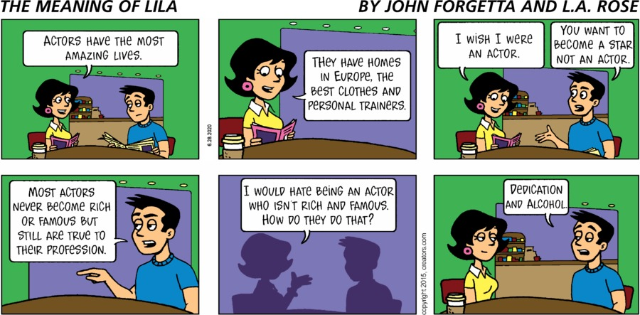 The Meaning of Lila Comic Strip for June 28, 2020