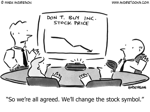 Don't Buy inc. Stock price