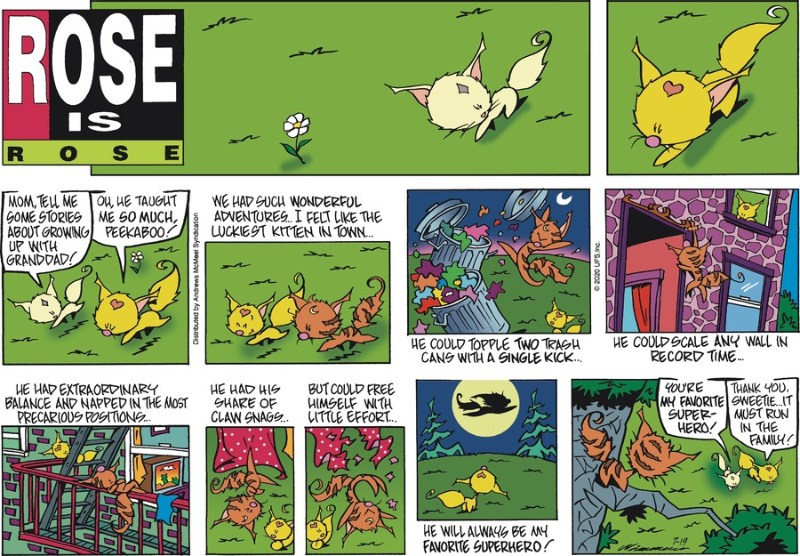 Rose is Rose Comic Strip for July 19, 2020