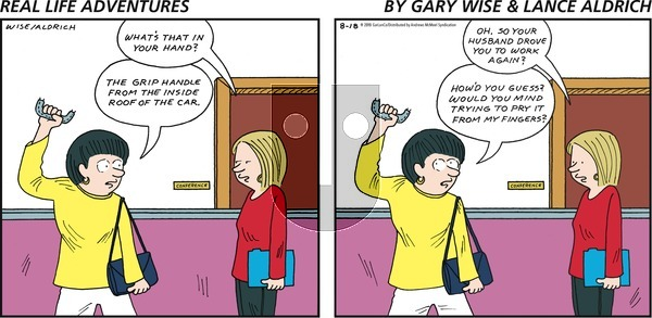 Real Life Adventures on Sunday August 18, 2019 Comic Strip