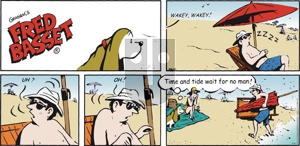 Fred Basset - Sunday July 19, 2020 Comic Strip