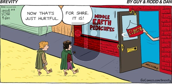 Brevity on Sunday June 3, 2012 Comic Strip