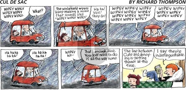 Cul de Sac on Sunday August 7, 2016 Comic Strip