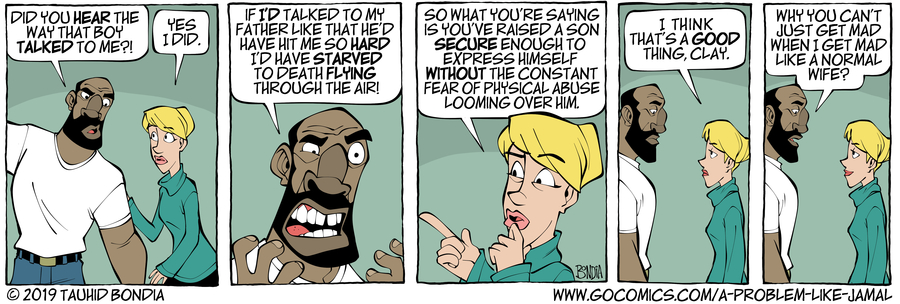 A Problem Like Jamal Comic Strip for March 04, 2019
