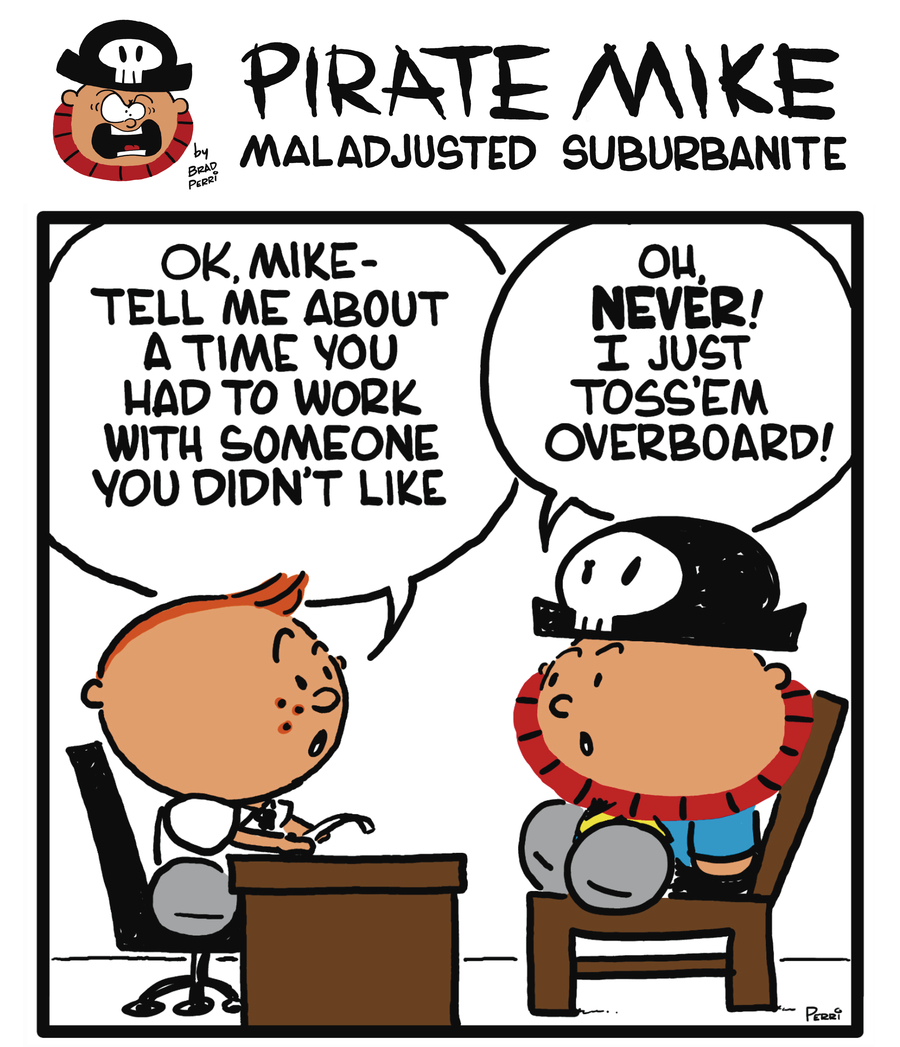 Pirate Mike Comic Strip for July 22, 2019