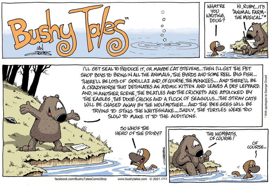 Bushy Tales by Ian Jones on Sun, 09 May 2021