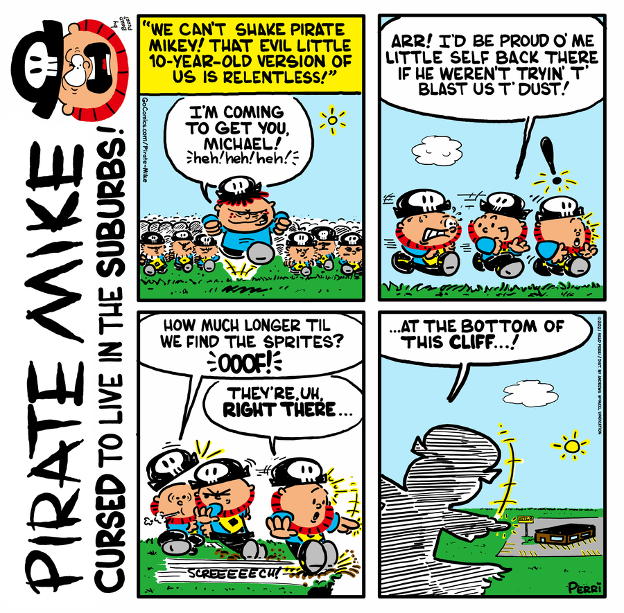 Pirate Mike Comic Strip for June 09, 2021