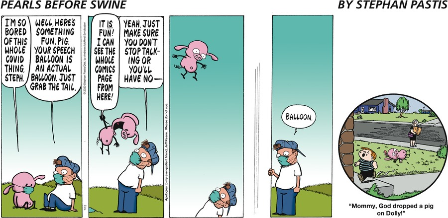 Pearls Before Swine Comic Strip for July 12, 2020