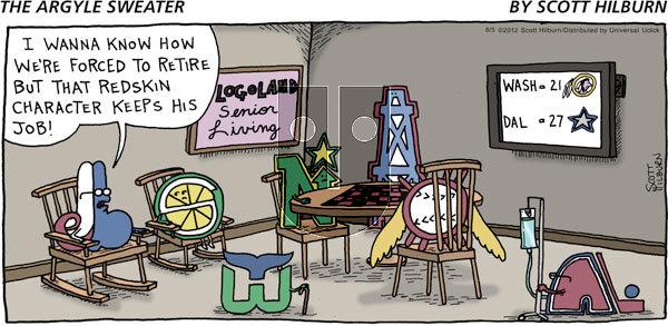 The Argyle Sweater - Sunday August 5, 2012 Comic Strip