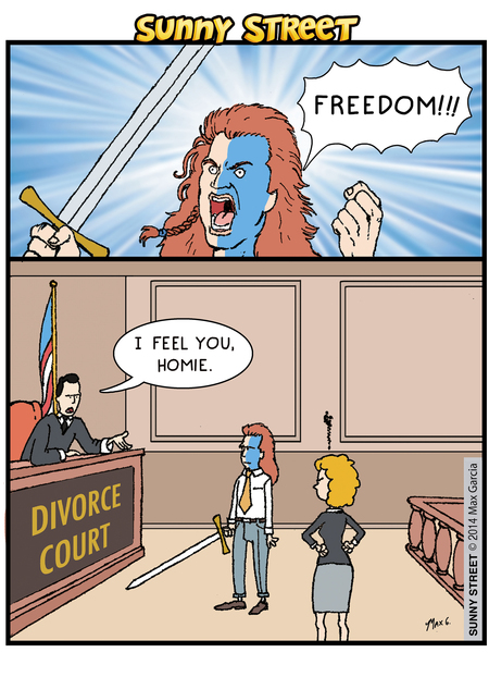 William Wallace: Freedom! 