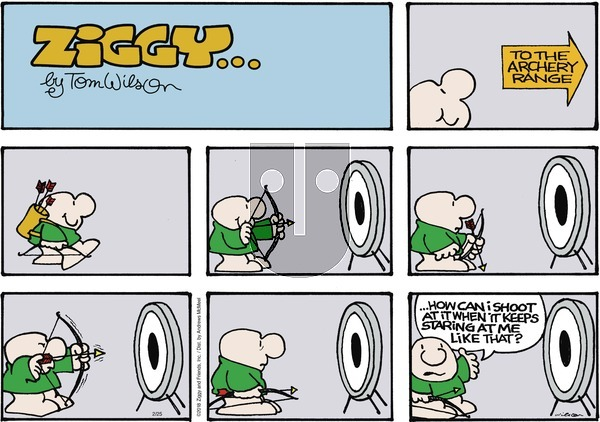Ziggy on Sunday February 25, 2018 Comic Strip