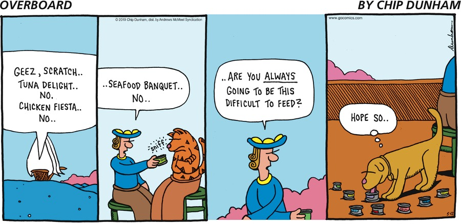 Overboard Comic Strip for May 12, 2019