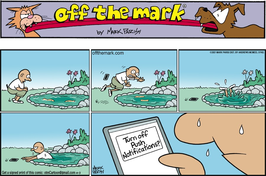 Off the Mark by Mark Parisi on Sun, 03 Oct 2021