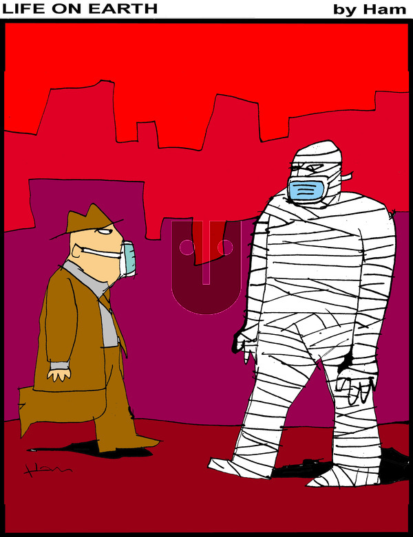 Life on Earth on Tuesday April 27, 2021 Comic Strip