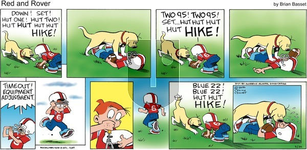 Red and Rover - Sunday September 20, 2020 Comic Strip