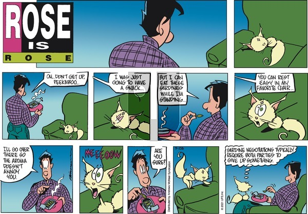 Rose is Rose - Sunday March 28, 2021 Comic Strip