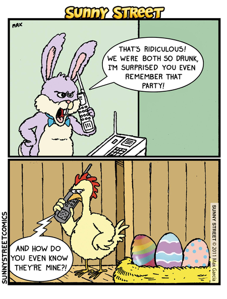 Sunny Street Comic Strip for March 24, 2016