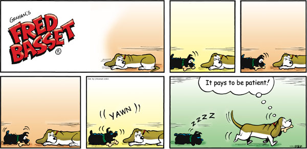 Fred Basset Comic Strip for January 23, 2011