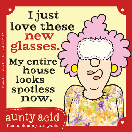 Aunty Acid for Oct 2, 2017 Comic Strip