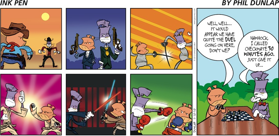 Ink Pen Comic Strip for January 10, 2010
