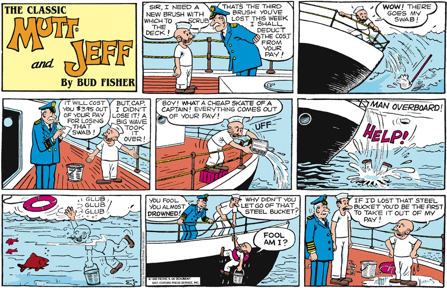 Mutt & Jeff Comic Strip for May 19, 2019
