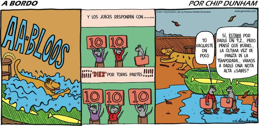Overboard en Español for Sep 24, 2017 Comic Strip