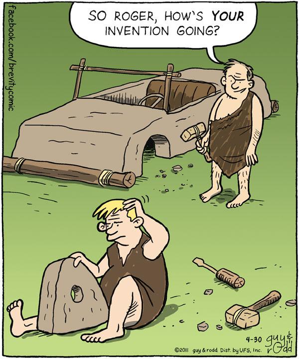 Brevity Comic Strip for April 30, 2011