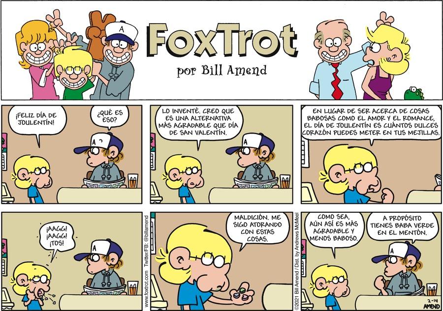 FoxTrot en Español Comic Strip for February 14, 2021