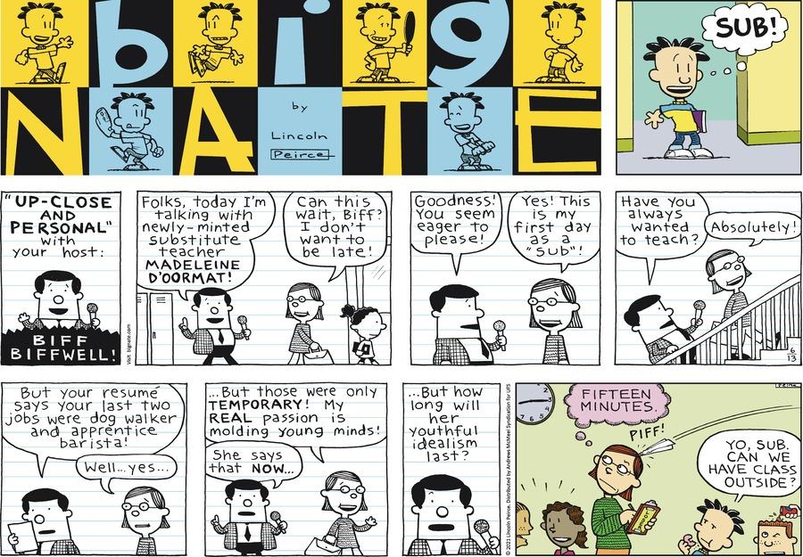 Big Nate Comic Strip for June 13, 2021