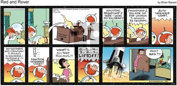 Red and Rover - Sunday July 12, 2020 Comic Strip
