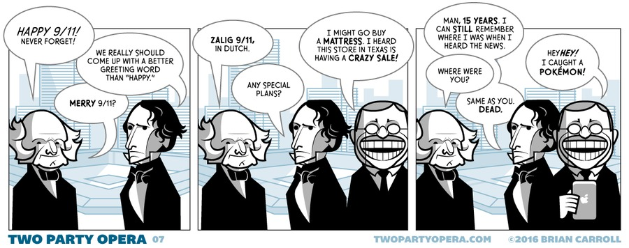 Two Party Opera for Sep 11, 2016 Comic Strip