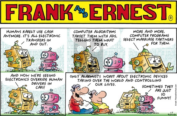 Frank and Ernest on Sunday January 7, 2018 Comic Strip