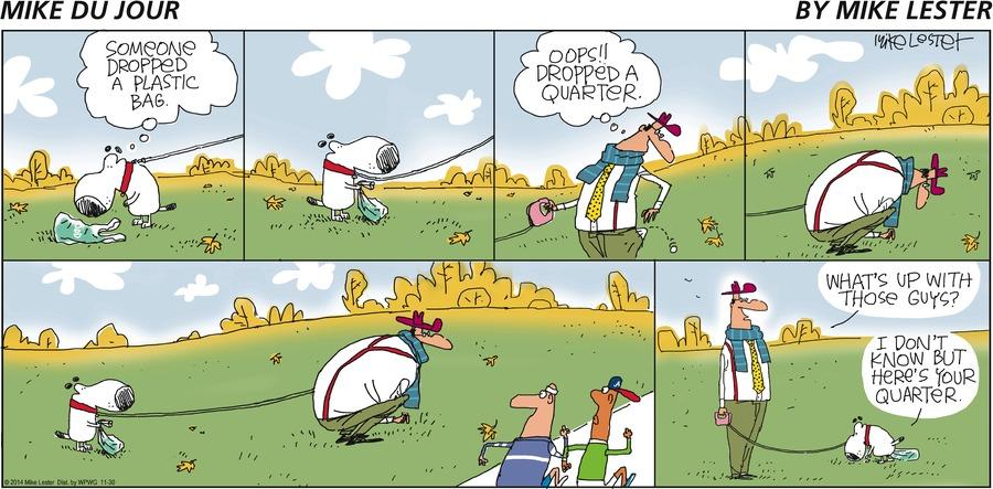 Mike du Jour Comic Strip for November 30, 2014