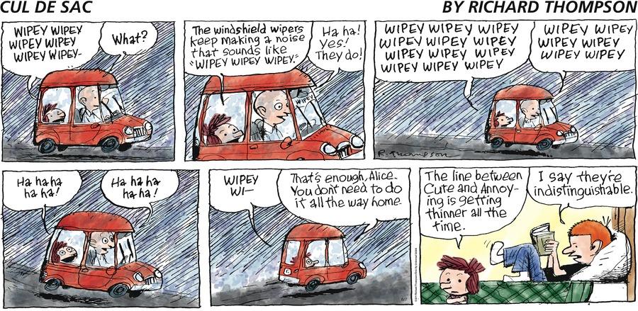 Cul de Sac Comic Strip for August 07, 2016