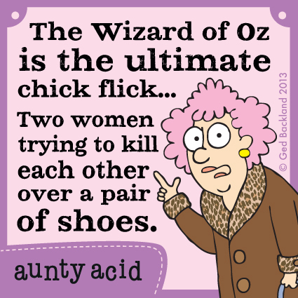 Aunty Acid for Sep 1, 2013 Comic Strip
