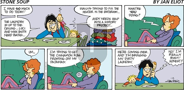Stone Soup on Sunday January 8, 2012 Comic Strip