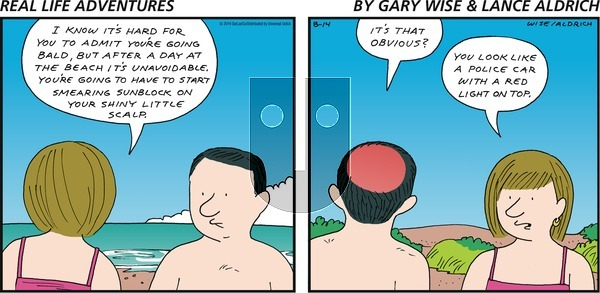 Real Life Adventures on Sunday August 14, 2016 Comic Strip